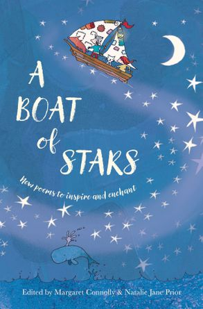 Cover image - A Boat of Stars: New poems to inspire and enchant