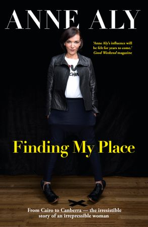 Cover image - Finding My Place: From Cairo to Canberra - the irresistible story of an irrepressible woman