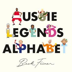 Cover image - Aussie Legends Alphabet