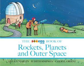 Cover image - The ABC Book of Rockets, Planets and Outer Space