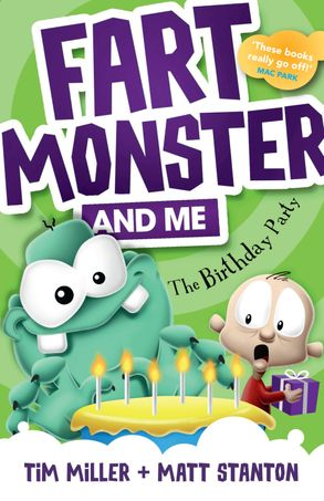 Cover image - Fart Monster and Me: The Birthday Party (Fart Monster and Me, #3)