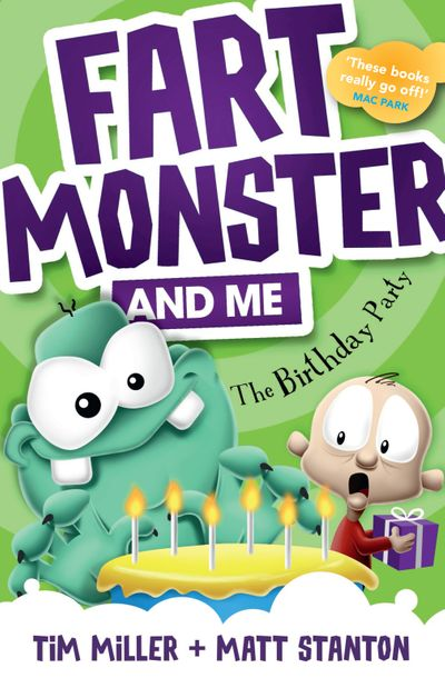 Fart Monster and Me: The Birthday Party (Fart Monster and Me, #3)