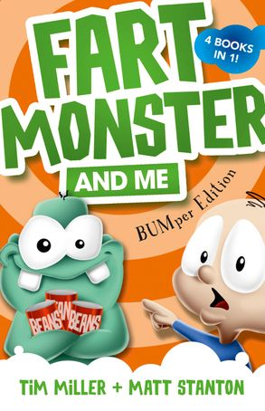 Cover image - Fart Monster and Me: BUMper Edition (Fart Monster and Me, #1-4)