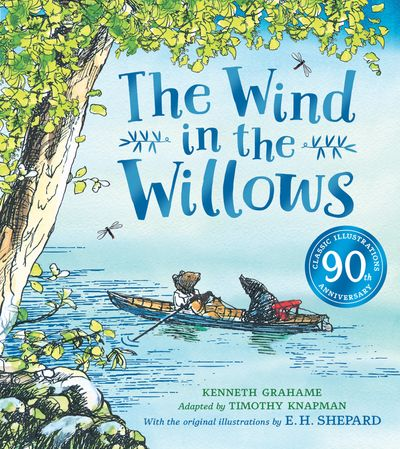 The Wind in the Willows Anniversary Gift Picture Book