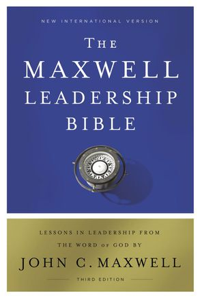 Cover image - NIV Maxwell Leadership Bible [3rd Edition]