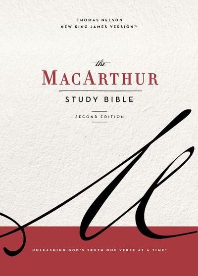 NKJV MacArthur Study Bible [Second Edition, Blue]