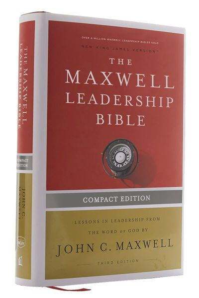 NKJV Maxwell Leadership Bible, Third Edition, Compact, Comfort Print: Holy Bible, New King James Version