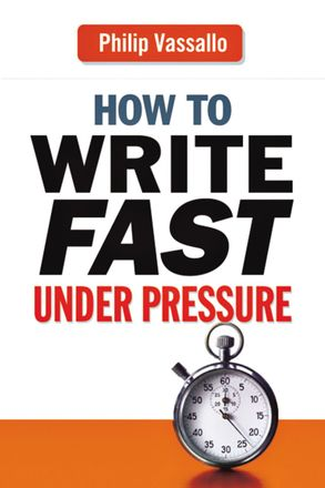 Cover image - How To Write Fast Under Pressure