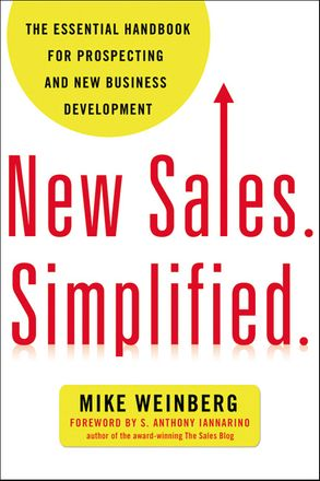 Cover image - New Sales. Simplified.: The Essential Handbook For Prospecting And New Business Development