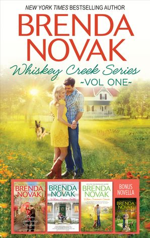 Brenda Novak Whiskey Creek Series Vol 1/When We Touch/When Lightning Strikes/When Snow Falls/When Summer Comes