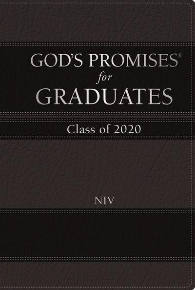 NIV God's Promises For Graduates: Class Of 2020 [Black]