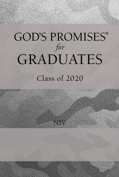 NIV God's Promises For Graduates: Class Of 2020 [Silver Camouflage]