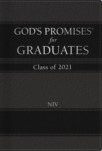 God's Promises for Graduates: Class of 2021 - Black NIV