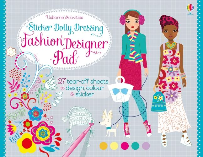 Sticker Dolly Dressing Fashion Pad Harpercollins Australia