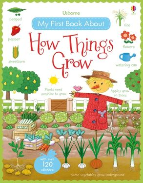 Cover image - My First Book About How Things Grow Sticker Book