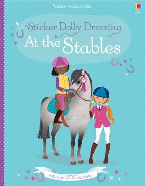 Picture of Sticker Dolly Dressing At the Stables