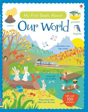 Cover image - My First Book About Our World Sticker Book