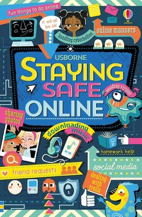 Cover image - Staying Safe Online