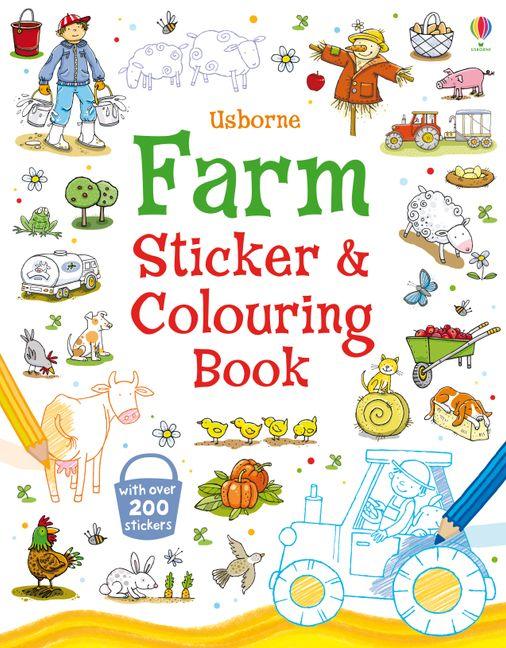 Farm Sticker and Colouring Book : HarperCollins Australia