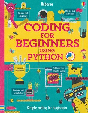 Cover image - Coding for Beginners: Using Python