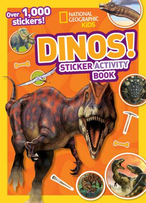 Picture of National Geographic Kids Dinos Sticker Activity Book: Over 1,000 Stickers!