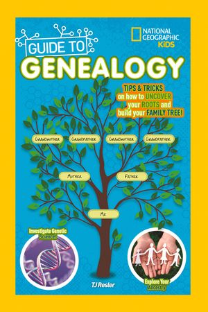 Picture of National Geographic Kids Guide to Genealogy