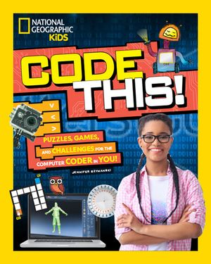 Picture of Code This!: Puzzles, Games, and Challenges for the Creative Coder in You