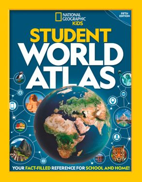 Cover image - National Geographic Student World Atlas [Fifth Edition]