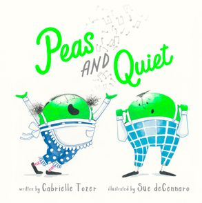 Cover image - Peas and Quiet