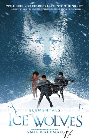 Cover image - Ice Wolves (Elementals, #1)