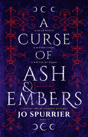 Cover image - A Curse of Ash and Embers