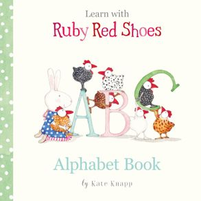 Cover image - Alphabet Book (Learn with Ruby Red Shoes, #1)