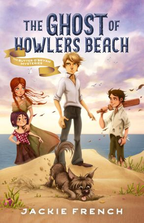 Cover image - The Ghost of Howlers Beach (The Butter O'Bryan Mysteries, #1)