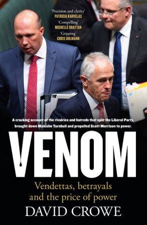 Cover image - Venom: Vendettas, Betrayals and the Price of Power