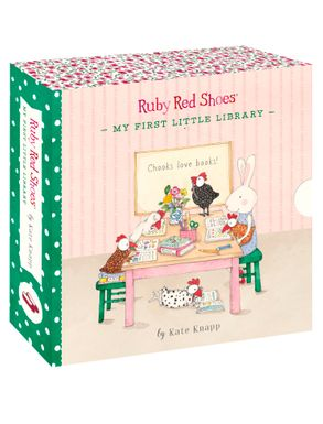 Cover image - Ruby Red Shoes: My First Little Library