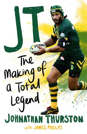 Cover image - JT: The Making of a Total Legend