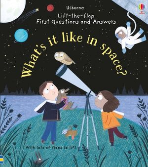 Lift-the-Flap First Questions and Answers: What's it like in Space?