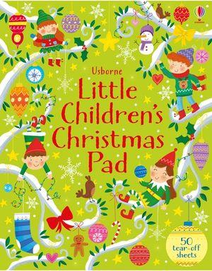 Little Children's Christmas Activity Pad
