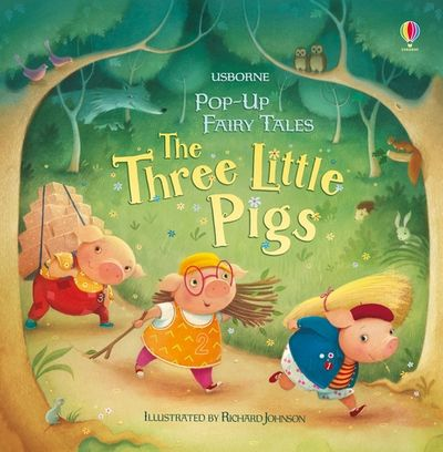 Pop-Up Fairy Tales Three Little Pigs