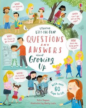 Cover image - Lift-the-Flap Questions & Answers about Growing Up
