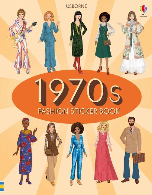 1970s Fashion Sticker Book Harpercollins Australia