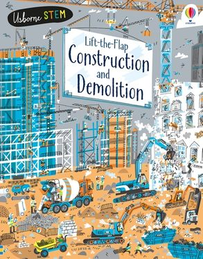Cover image - Lift-the-Flap Construction and Demolition