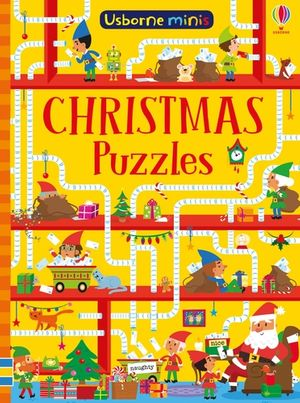 Picture of Mini Books Christmas Puzzles