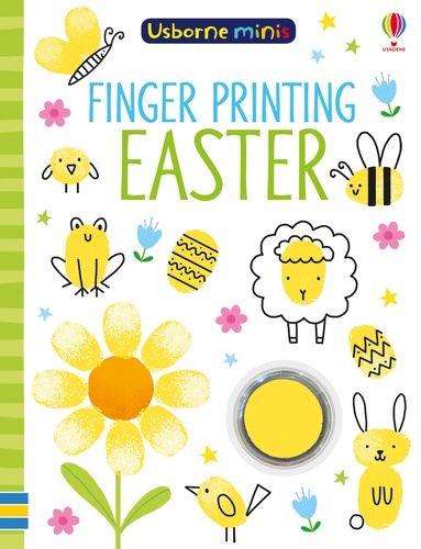 Mini Books Finger Printing Easter