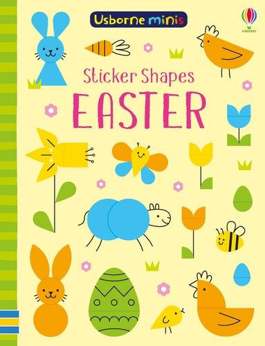 Mini Books Sticker Shapes Easter