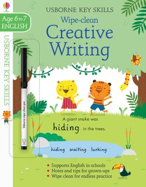 Picture of Wipe-Clean Creative Writing 6-7