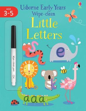 Cover image - Early Years Wipe-Clean Little Letters 4-5