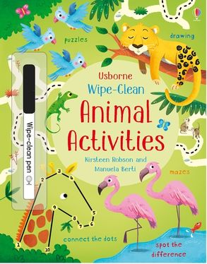 Cover image - Wipe-Clean Animal Activities