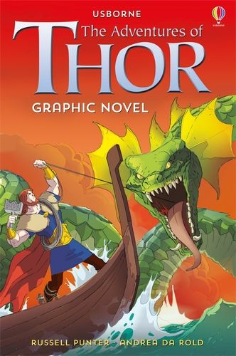 Usborne Graphic: The Adventures of Thor
