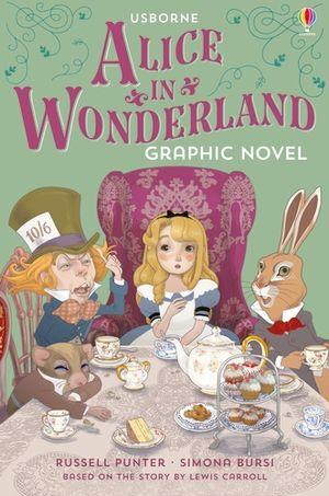 Usborne Graphic: Alice In Wonderland